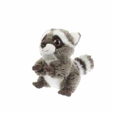 Pluche wasbeer knuffeltje 18 cm