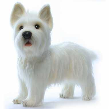 Pluche west highland terrier wit 50 cm