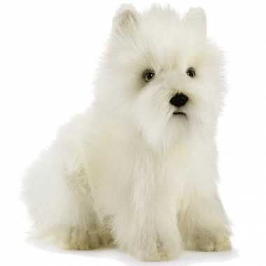 Pluche west highland white terrier hond 23 cm