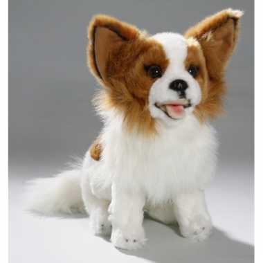 Pluche zittende chihuahua knuffel hond 25 cm