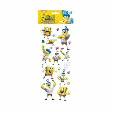 Poezie album pop-up stickers spongebob