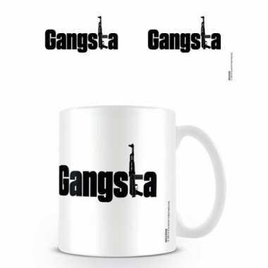 Porseleinen mok gangsta