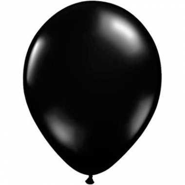 Qualatex juwel zwart ballonnen