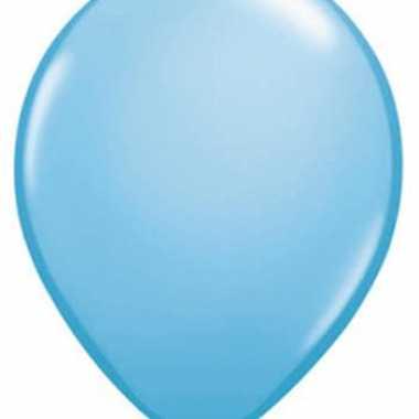 Qualatex lichtblauwe ballonnen