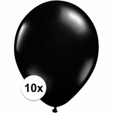 Qualatex zwarte ballonnen 10 stuks