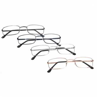 Rechthoekige leesbril +1.00