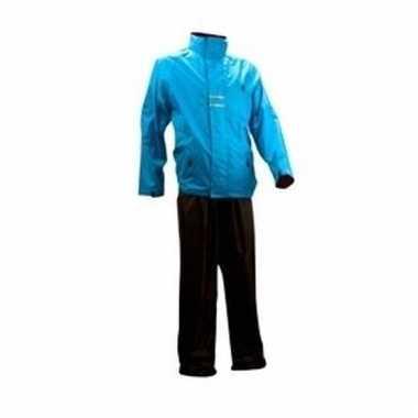 Regenpakken blauw/zwart voor volwassenen