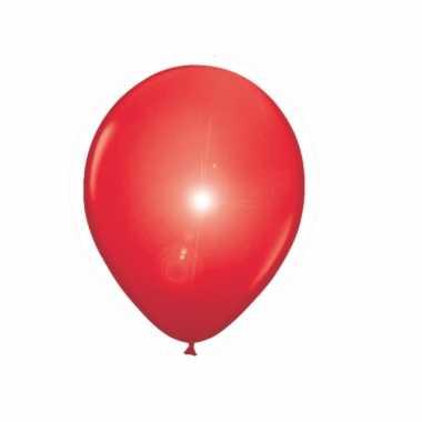 Rode ballonnen met led lichtjes