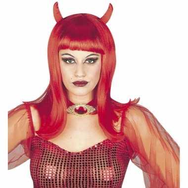 Rode duivel damespruik