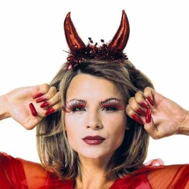 Rode duivel tiara