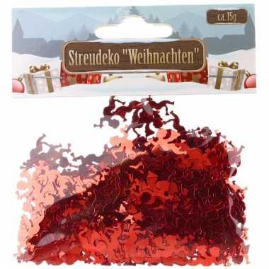 Rode engeltjes confetti 15 gram