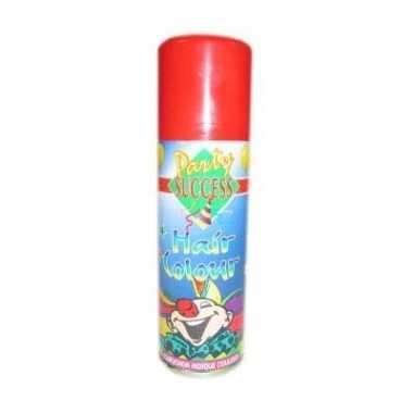 Rode haarverf spuitbus