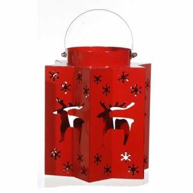 Rode lantaarn voor kerst