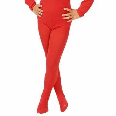 Rode meisjes maillot