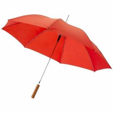 Rode paraplu automatisch 82 cm