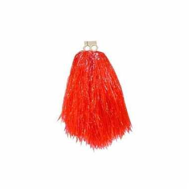Rode pompom voor kinderen