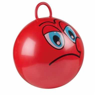Rode skippybal voor kinderen 45 cm