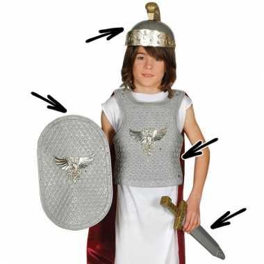 Romeinse infanterie kostuum met diverse accessoires