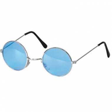 Ronde john lennon bril blauw
