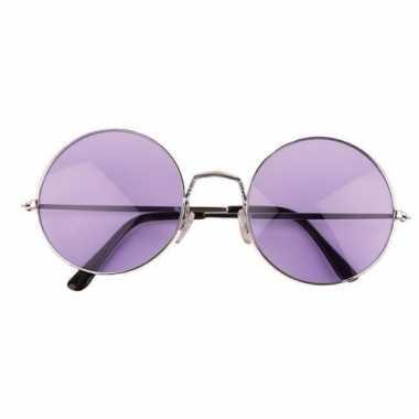 Ronde john lennon bril xl paars
