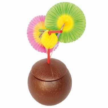 Ronde kokosnoten beker