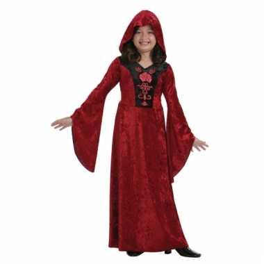 Rood gothic jurkje voor meisjes