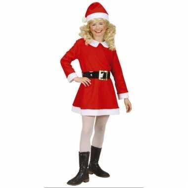 Rood met wit kerstjurkje voor meisjes