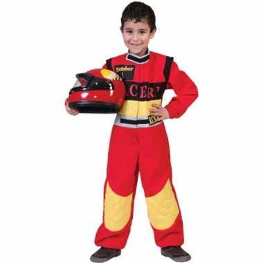 Rood racepakje voor kinderen