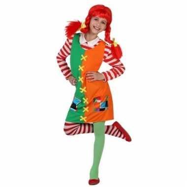 Roodharig sterk meisje verkleedkostuum voor meisjes