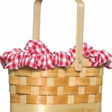 Roodkapje picknick mand