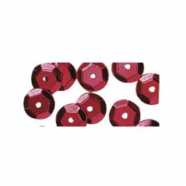 Roodkleurige pailletten 500x