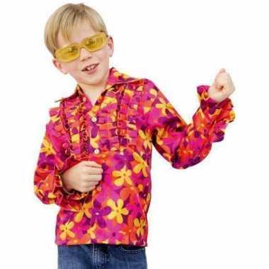 Rouche hawai blouse voor kids