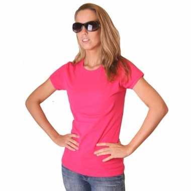 Roze bella shirt voor dames