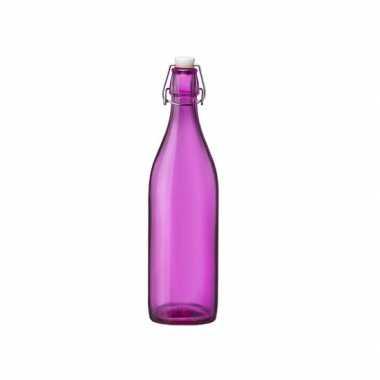 Roze giara fles