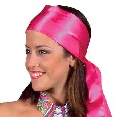 Roze haarband voor dames