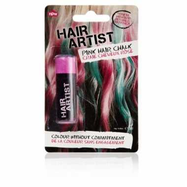 Roze haarverf voor dip
