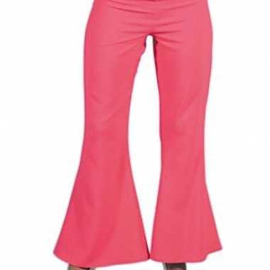 Roze hippie carnavals dames broeken