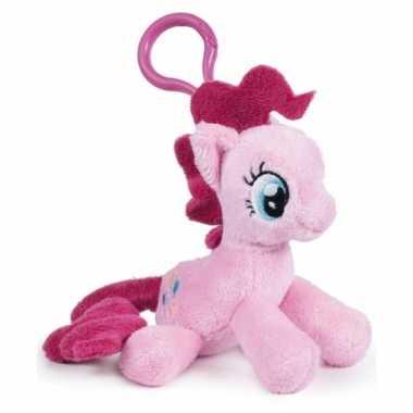 Roze my little pony sleutelhangertje 12 cm