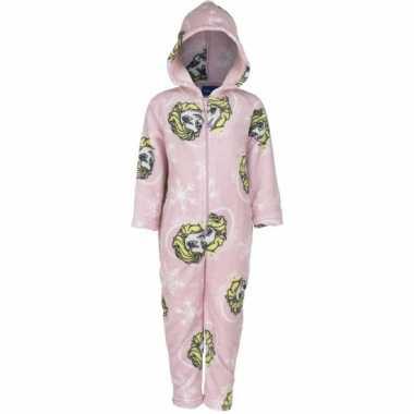Roze pyjamapak frozen voor kinderen