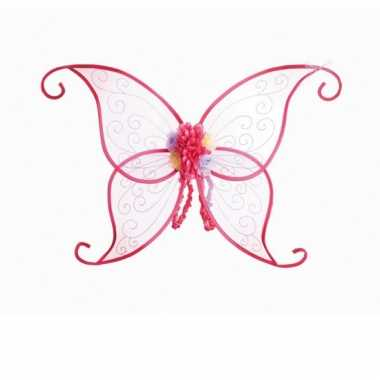 Roze vlindervleugels