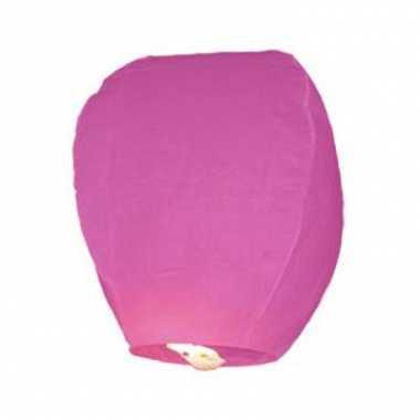 Roze wens lantaarn
