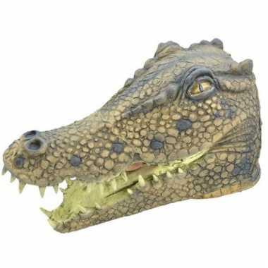 Rubberen krokodillen maskers