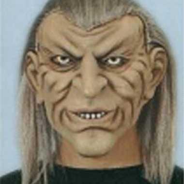 Rubberen masker cave man