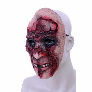Rubberen rottend gezicht masker