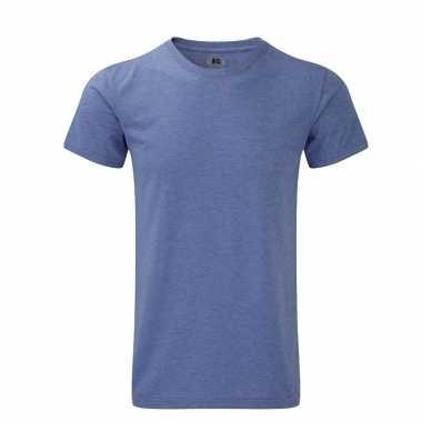 Rusell basic t-shirt blauw voor mannen