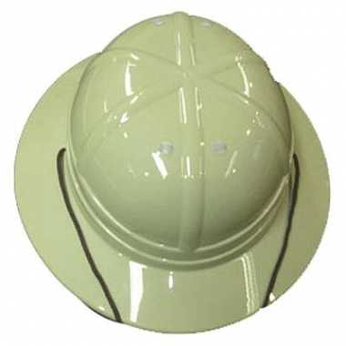 Safari helmen van plastic