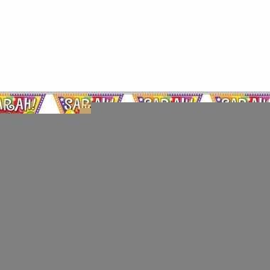 Sarah 50 jaar vlaggenlijnen 10 meter