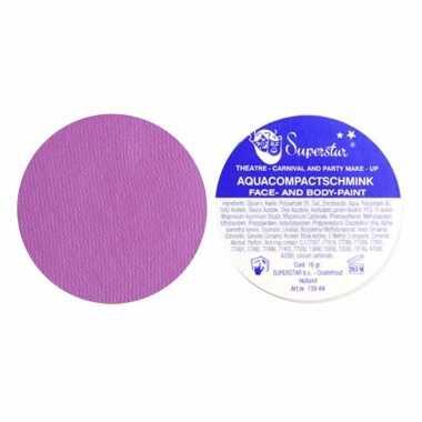 Schmink 16 gram face en body lila