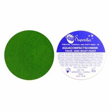 Schmink face en body gras groen