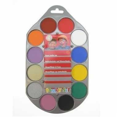 Schminkpalet 12 kleuren